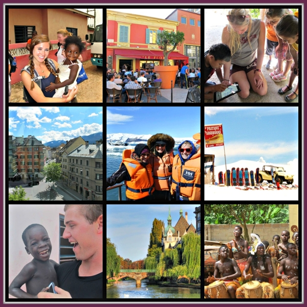 Collage of Study Abroad